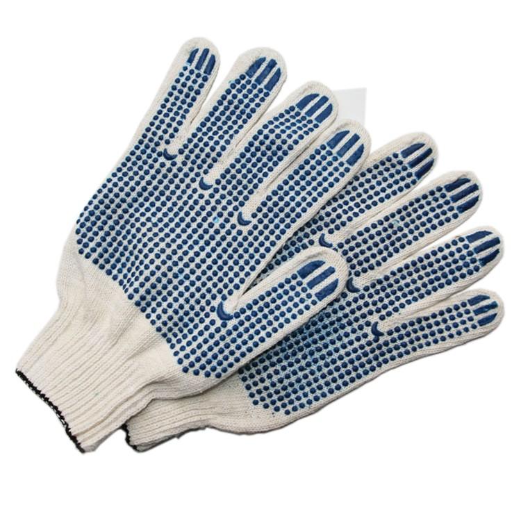 Перчатки трикотажные с пвх 6 нитка 10 класс